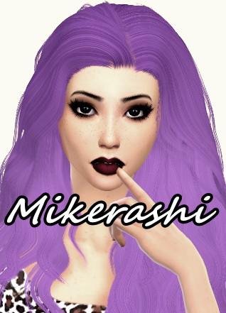Mikerashi: Stealthic`s Temptress hair retextured for Sims 4