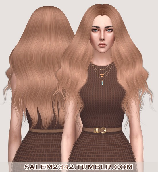 Salem2342: Katherine Hair for Sims 4