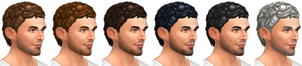 Simsontherope: Echos hairstyle retextured for Sims 4