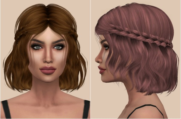 Kenzar Sims: Leahlillith`s Hair Retextured for Sims 4