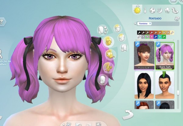 Mystufforigin: Rival Hairstyle for Sims 4