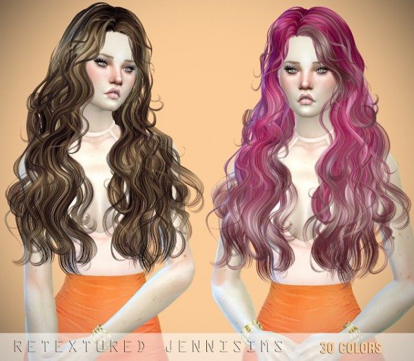 Jenni Sims: Newsea`s Millet and Newsea Patron Saint Hairs retextured for Sims 4