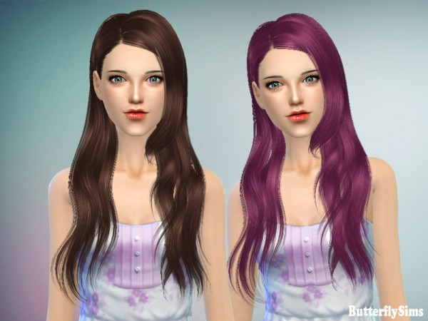 Butterflysims: Hair 147 for Sims 4