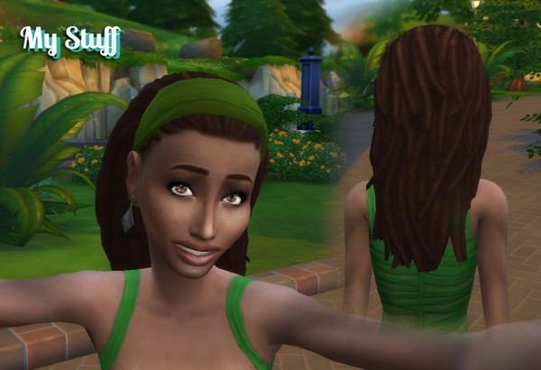 Mystufforigin: Dread Head Band for Sims 4