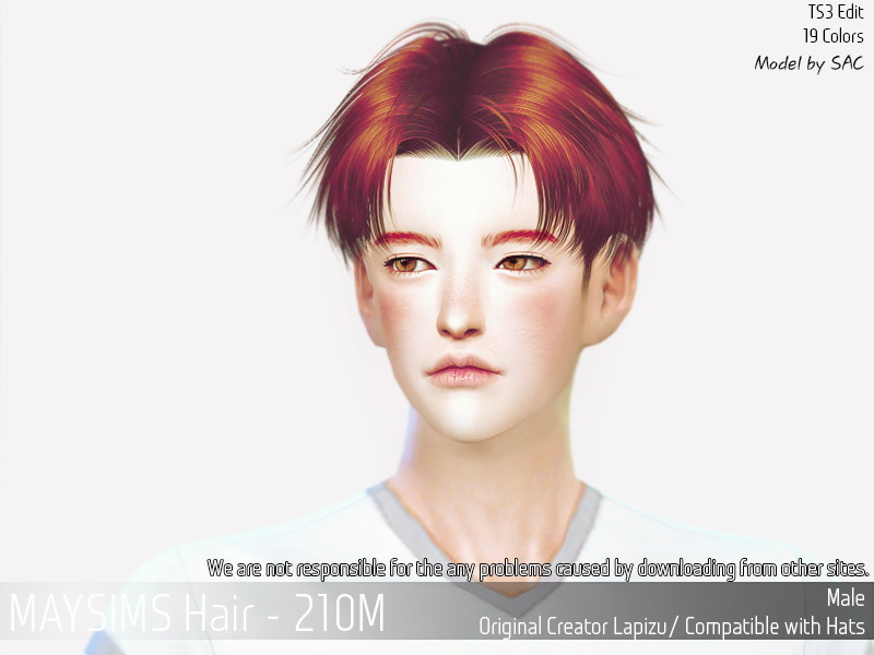 Sims 4 Hairs May Sims May 210m Hair Retextured