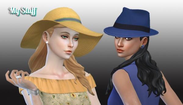 Mystufforigin: Sofia hairstyle for Sims 4