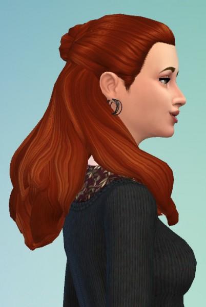 Birksches sims blog: Diner for Bun Hair for Sims 4