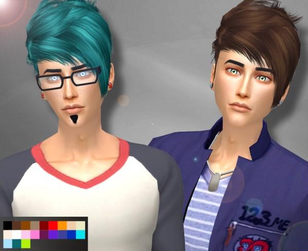 Genius6613: Full moon hair restore for Sims 4