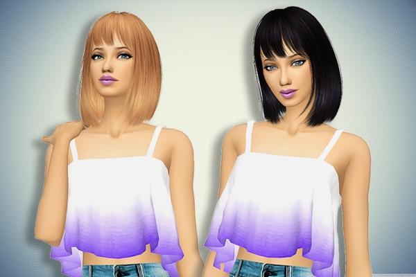 Pllumbobbilypixels: Nightcrawler hair retextured for Sims 4