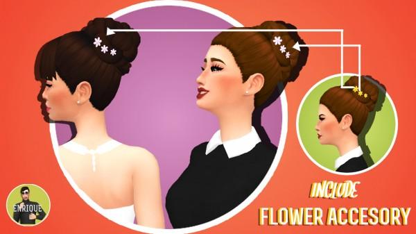 Enrique: Bun´s Hair Collection for Sims 4