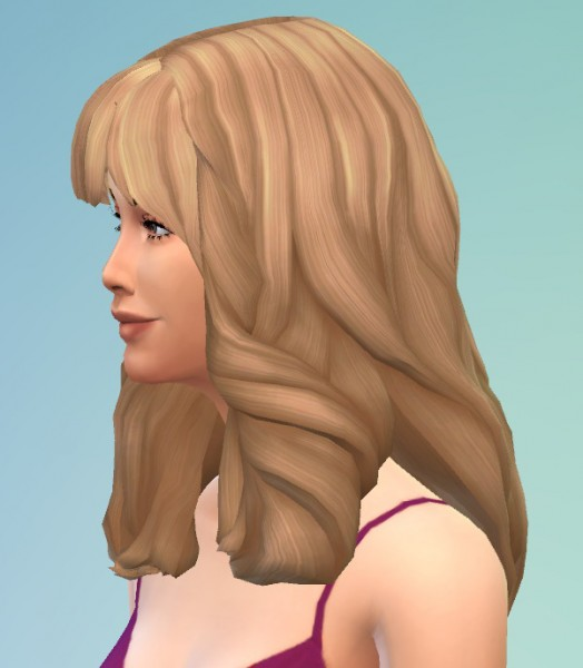 Birksches sims blog: Claire Hair for Sims 4