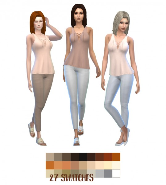 Simsworkshop: Kotcats Anna Hair Recolored by asimsfetish for Sims 4