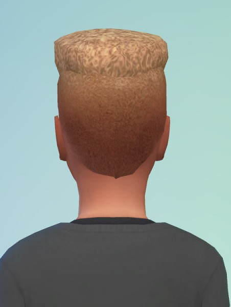 Birksches sims blog: Bart S. Hair for Sims 4
