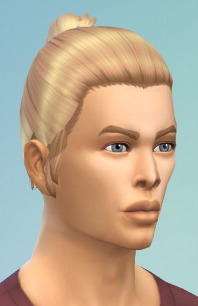 Birksches sims blog: Mini Bun on Top for Sims 4