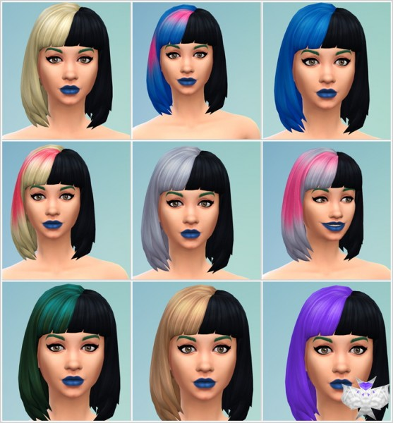 David Sims: Martinez Hairstyle for Sims 4