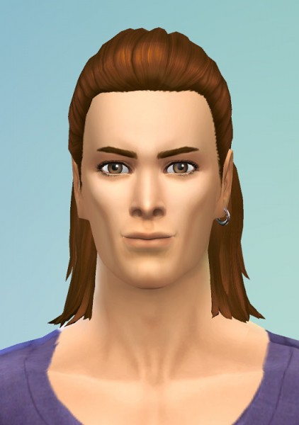 Birksches sims blog: Men HalfKnot for Sims 4