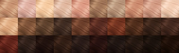 Littlecrisp: Brooklyn Hair   Recolored and Retextured for Sims 4