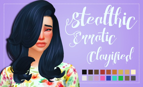Weepingsimmer: Stealthic Erratic Clayified for Sims 4