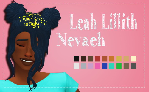 Weepingsimmer: LeahLillith's  Nevaeh Clayified for Sims 4