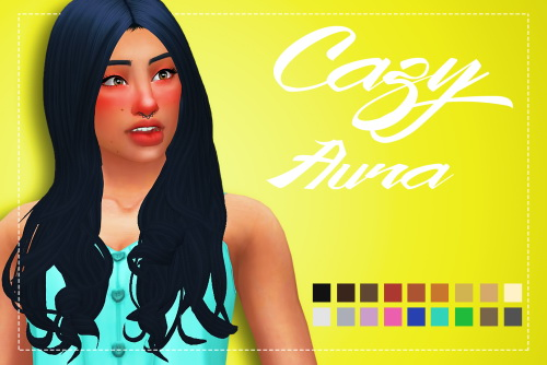 Weepingsimmer: Cazy's Aura Clayified for Sims 4