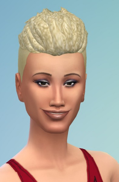 Birksches sims blog: Short Afro Curls hair for Sims 4