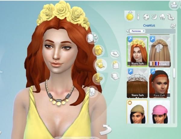 Mystufforigin: Braid Woven Edit for Sims 4