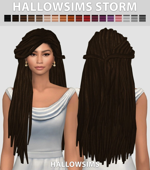 Mod The Sims - WCIF these Zendaya dreads?