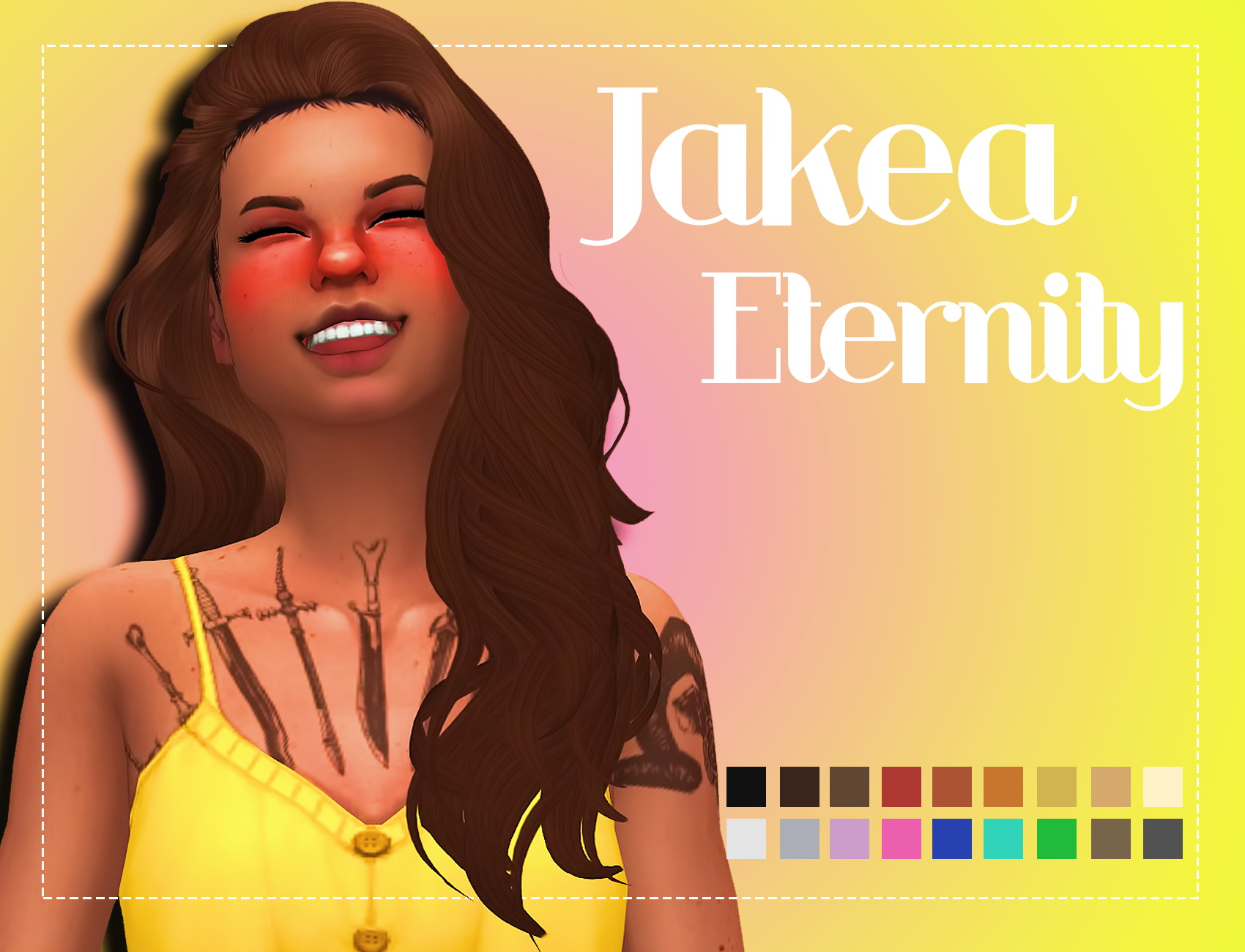 Sims 4 Hairs Simsworkshop Jakea Eternity Clayified Byb