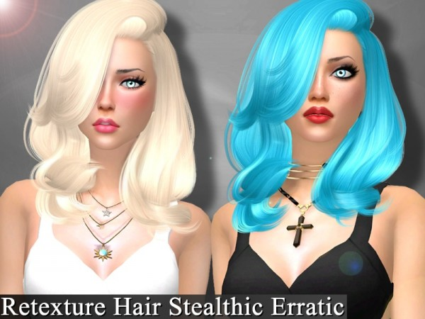 Genius6613: Hairstyle pack retextures for Sims 4