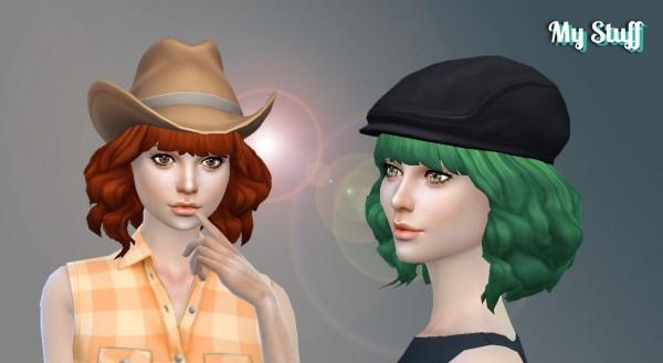 Mystufforigin: Aurora Hairstyle for Sims 4