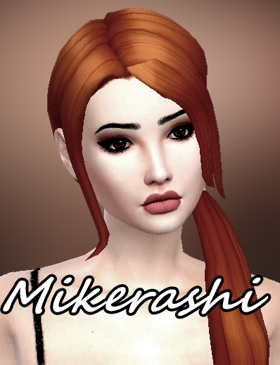 Mikerashi: Attractive Hair for Sims 4