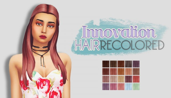 Whoohoosimblr: Innovation Hai recolored for Sims 4
