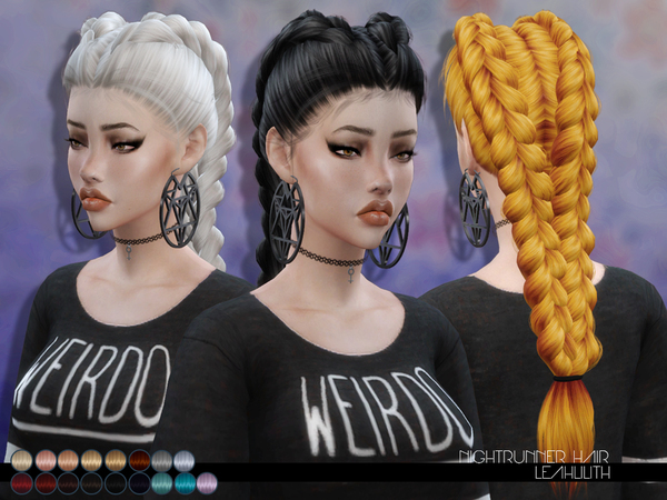 Sims 4 Hairs The Sims Resource Nightrunner Hair By