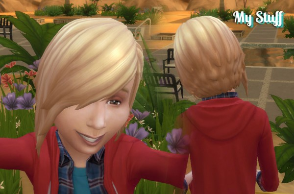 Mystufforigin: Shy Hairstyle for Kids for Sims 4