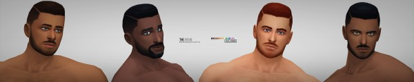 Simsworkshop: The Urbane hair by Xld Sims for Sims 4