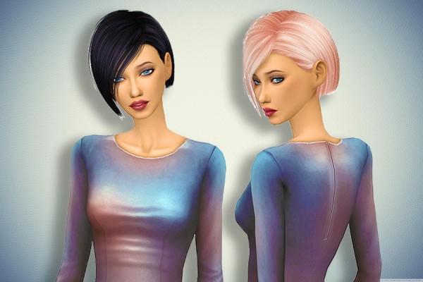 Pllumbobbilypixels: Nightcrawler`s Danger Hair Retextured for Sims 4