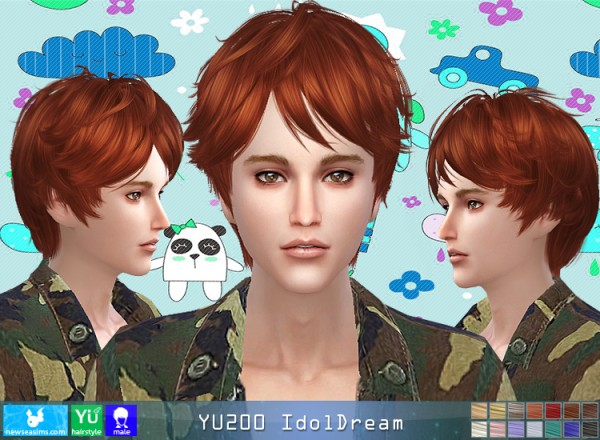 NewSea: YU200 Idol Dream for Sims 4