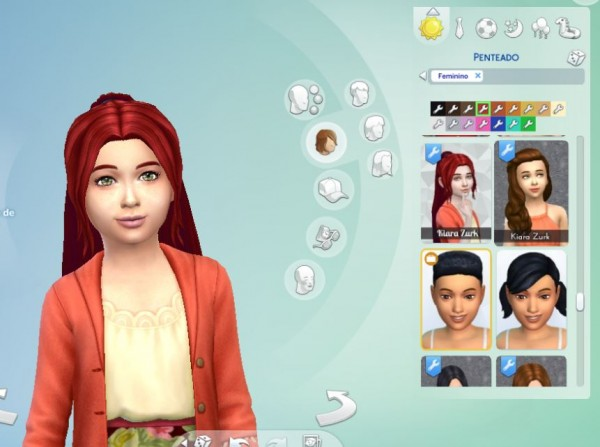 Mystufforigin: Indecision Hairstyle for Girls for Sims 4