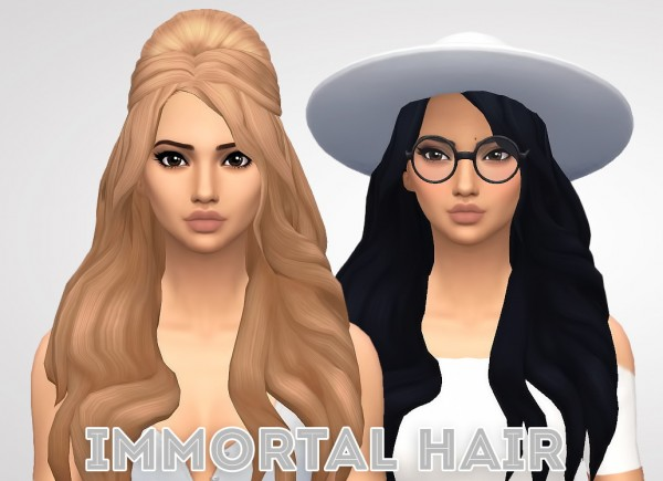 Ivo Sims: Immortal hair for Sims 4