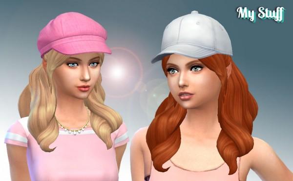 Mystufforigin: Sweet Curls for Sims 4