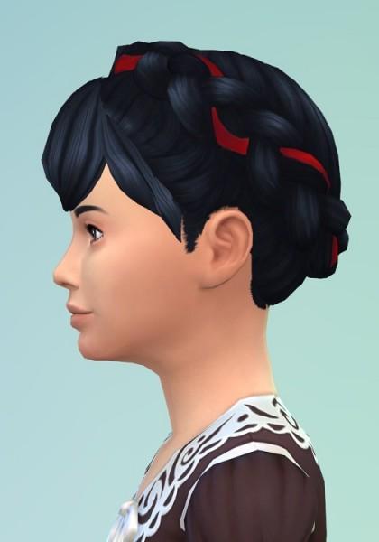 Birksches sims blog: Little Frida Braids 2 for Sims 4