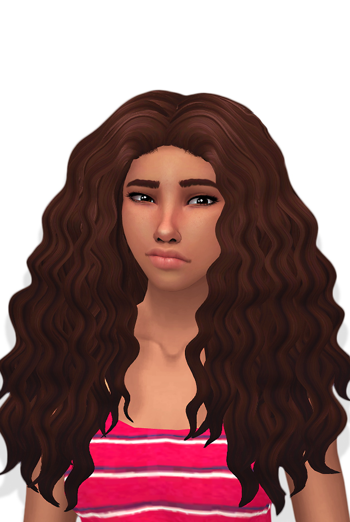 Butterscotchsims Sintiklia S Diva Clayified Sims 4 Hairs