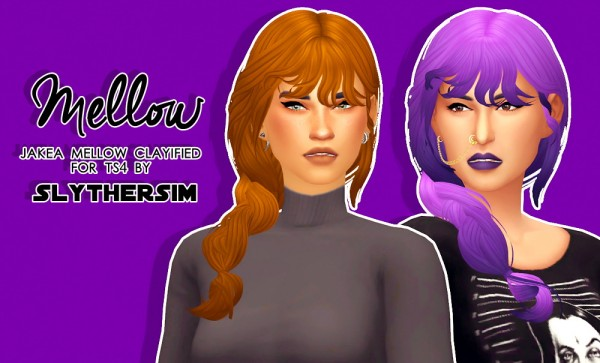 Monolith Sims: Jakea Mellow Clayified for Sims 4