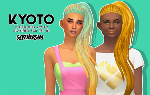 Monolith Sims: LeahLillith's Kyoto Clayified for Sims 4