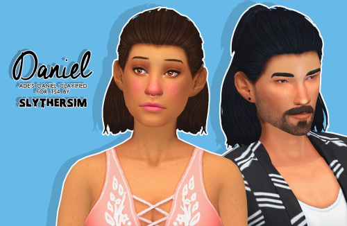 Monolith Sims: Ade's Daniel Clayified for Sims 4