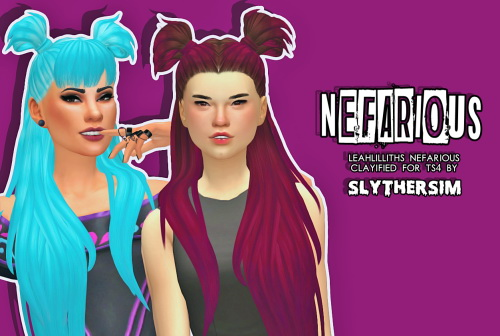 Monolith Sims: LeahLillith's Nefarious Clayified for Sims 4