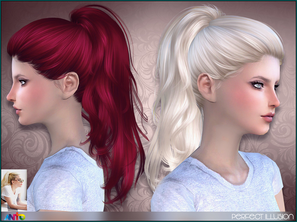 The Sims Resource: Perfect Illusion by Anto for Sims 4