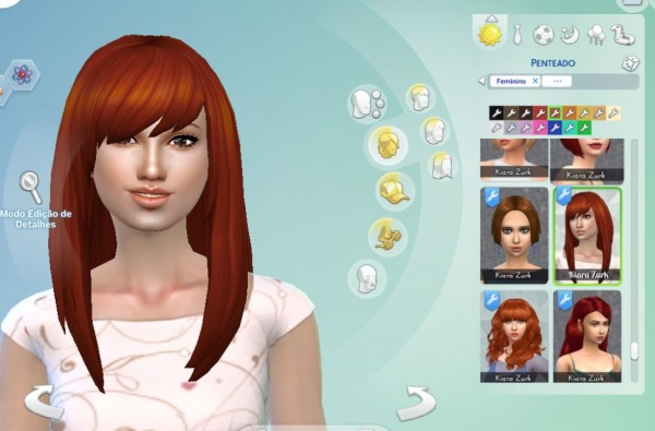 Mystufforigin: Helena hair for Sims 4