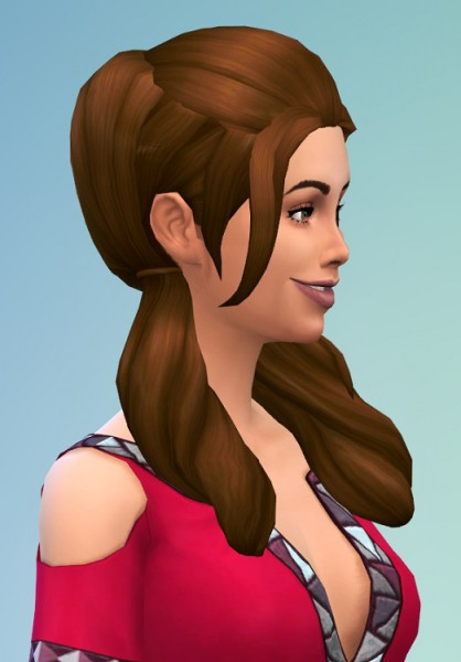 Birksches sims blog: Roll'in Pics Hair for Sims 4