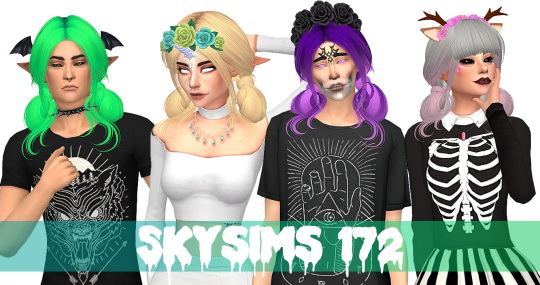 Simsworkshop: Skysims 172 1.0 for Sims 4